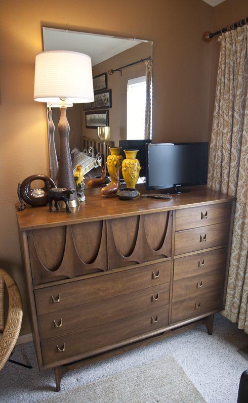 Broyhill Brasilia Dresser Mid Century Living Room Decor Mid