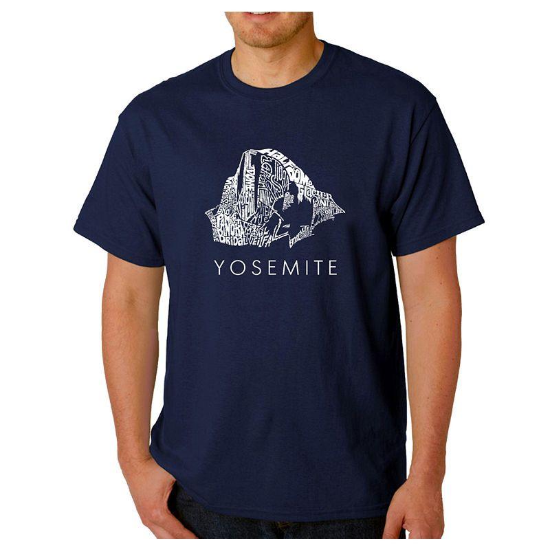 3ea6d2bcba5 Los Angeles Pop Art Yosemite Logo Graphic Word ArtT-Shirt- Men s Big and  Tall