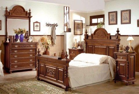 dormitorios antiguos madera | inspiración de diseño de interiores ...
