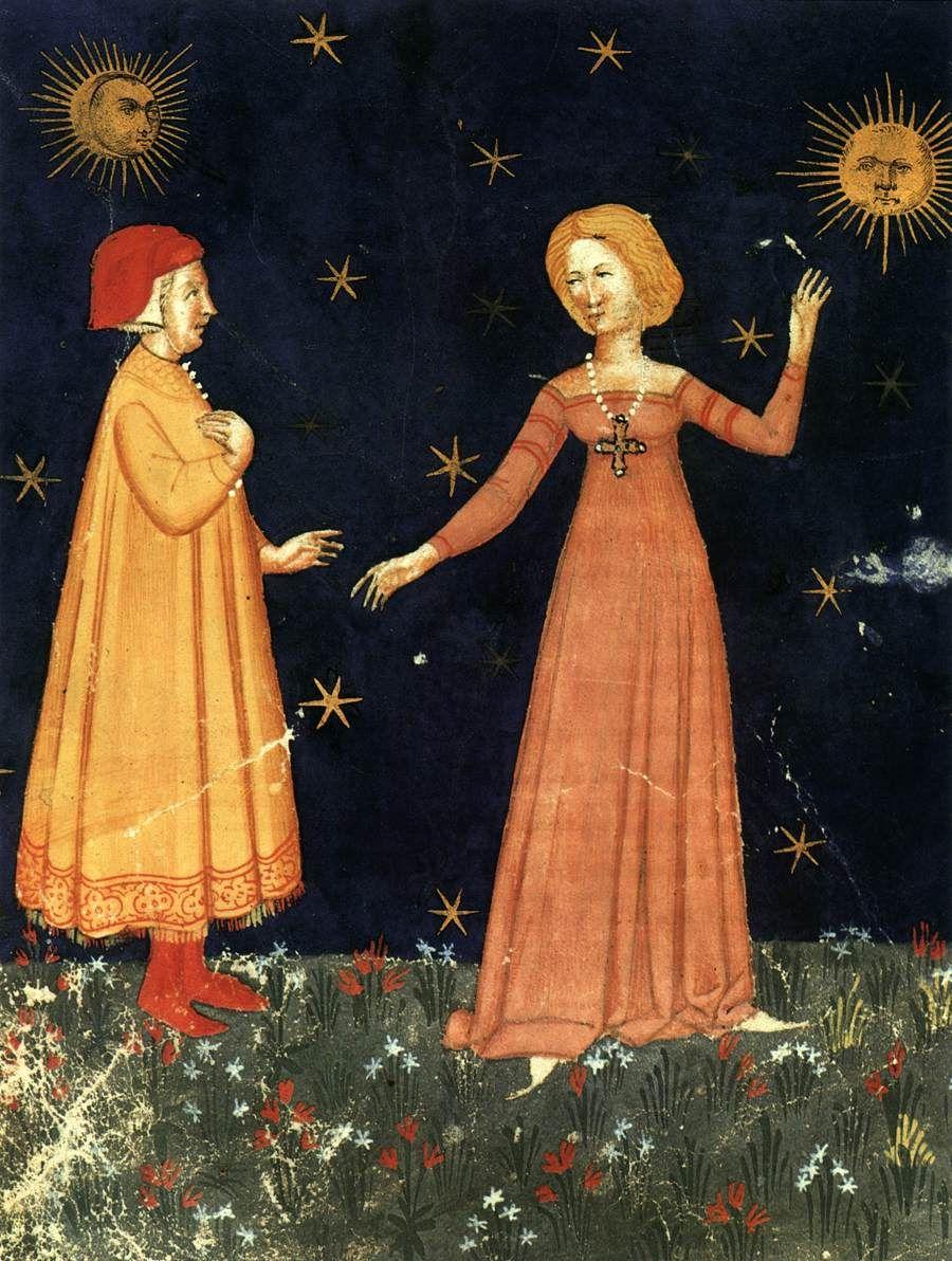 1380-1400  Italian miniaturist - Dante: Divina Commedia