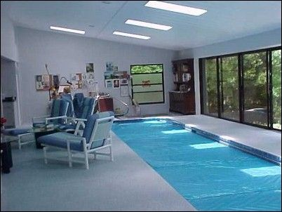 House Swimming Pool Small Indoor