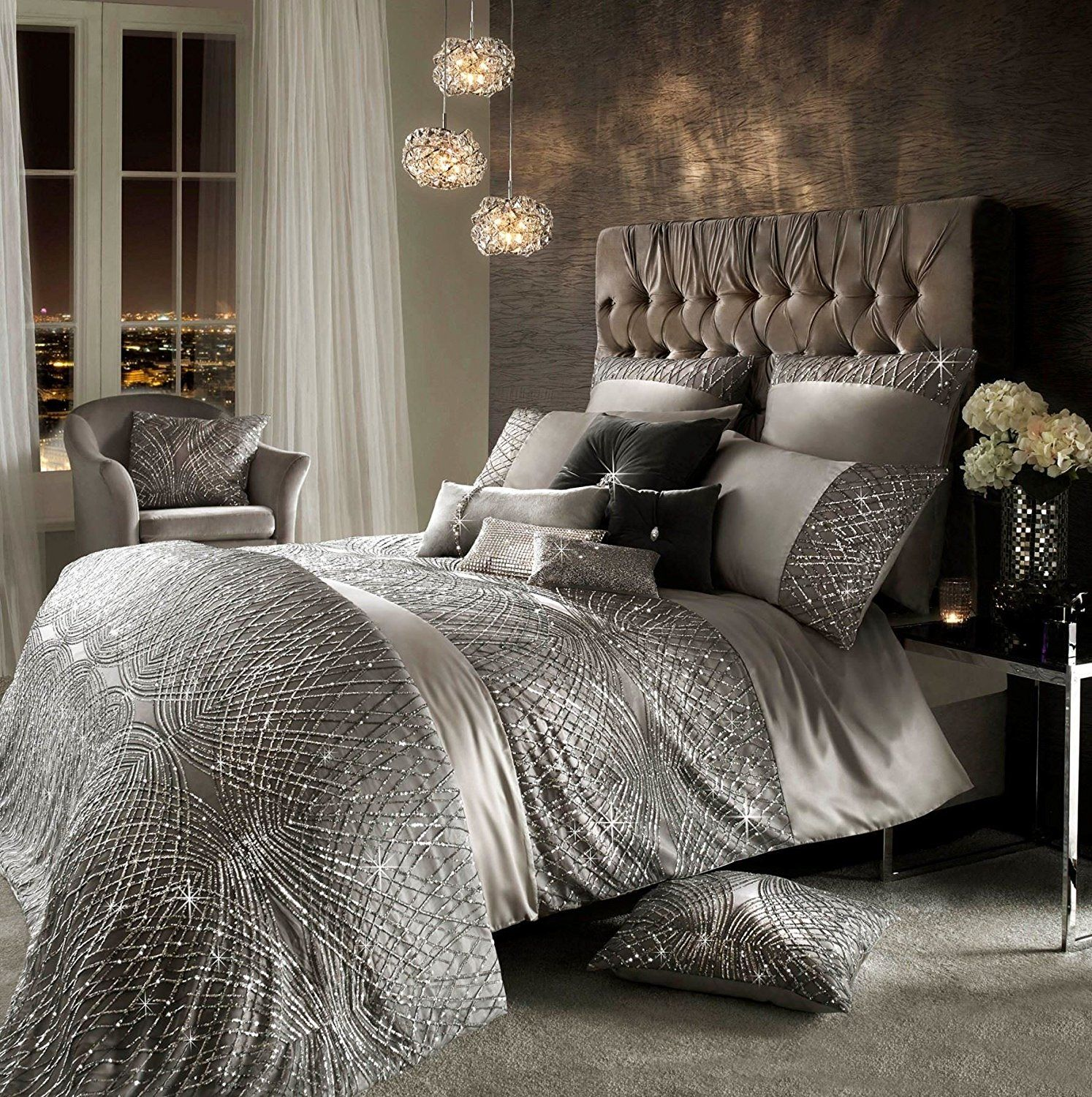 Boxing Day Bedding Sets Sale Bed Linens Luxury Silver Bedroom