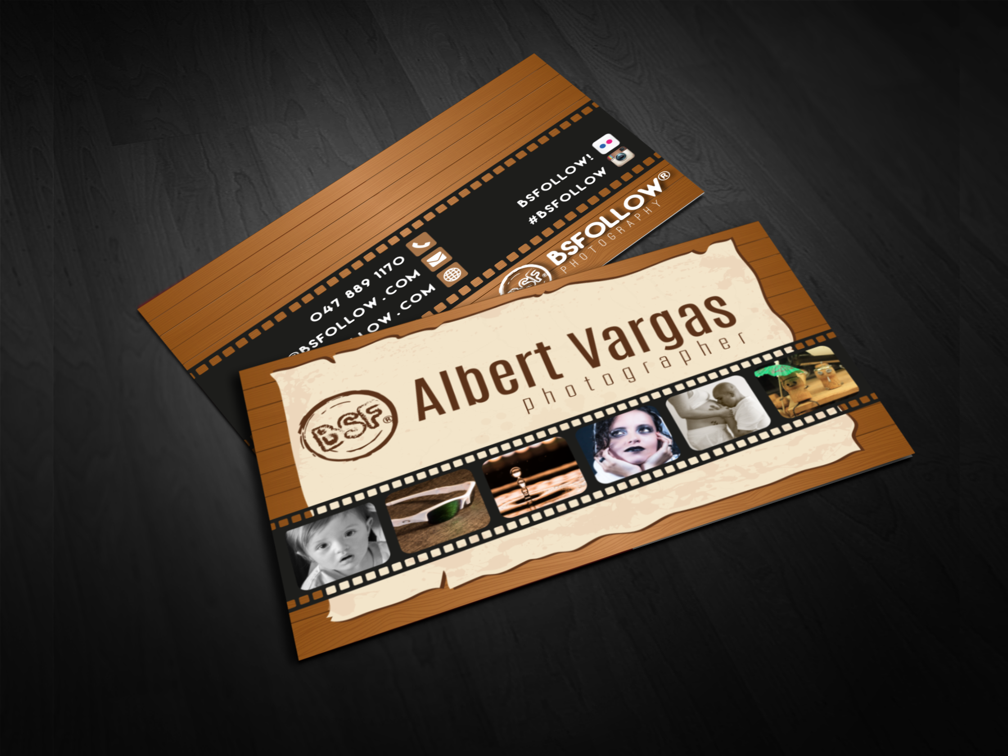 photographer business card business cards designs