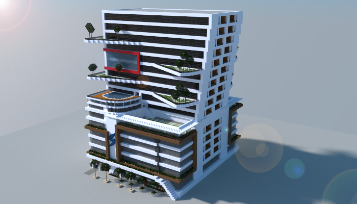 Modern Building I Made In Minecraft Download Link Http