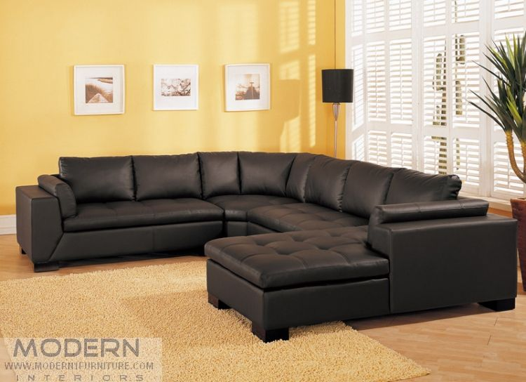 modern leather sectional sofa tosh furniture bt