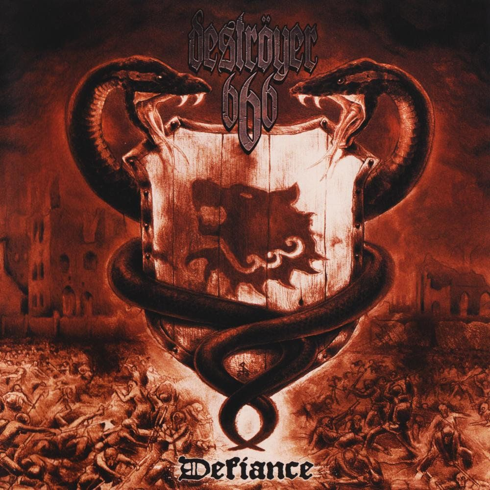 Destroyer 666 Defiance Vinyl Defiance Rock Music