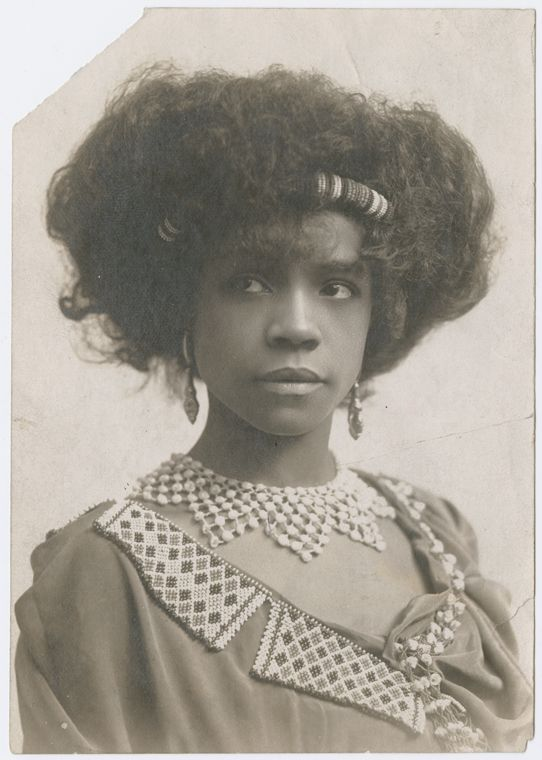 Singer and dancer Aida Overton Walker, circa 1910s New York Public Library (she refused to play f.ex mammy roles!)