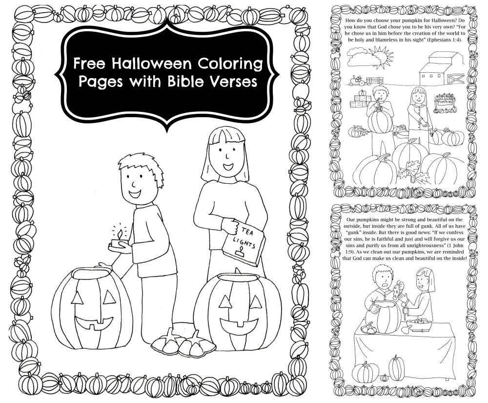 Pumpkin Carving Coloring Book #halloweencoloringpages