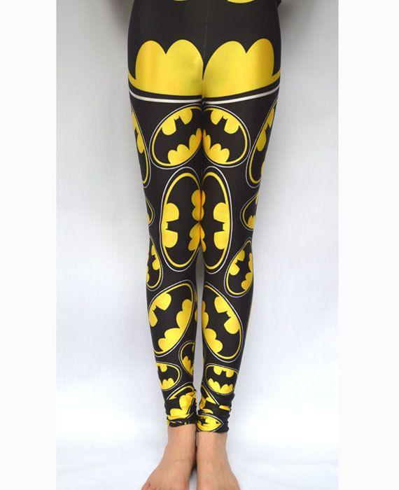 batman leggings adult batman costume socks yoga leggings batman birthday shirt batman - Halloween Tights For Women
