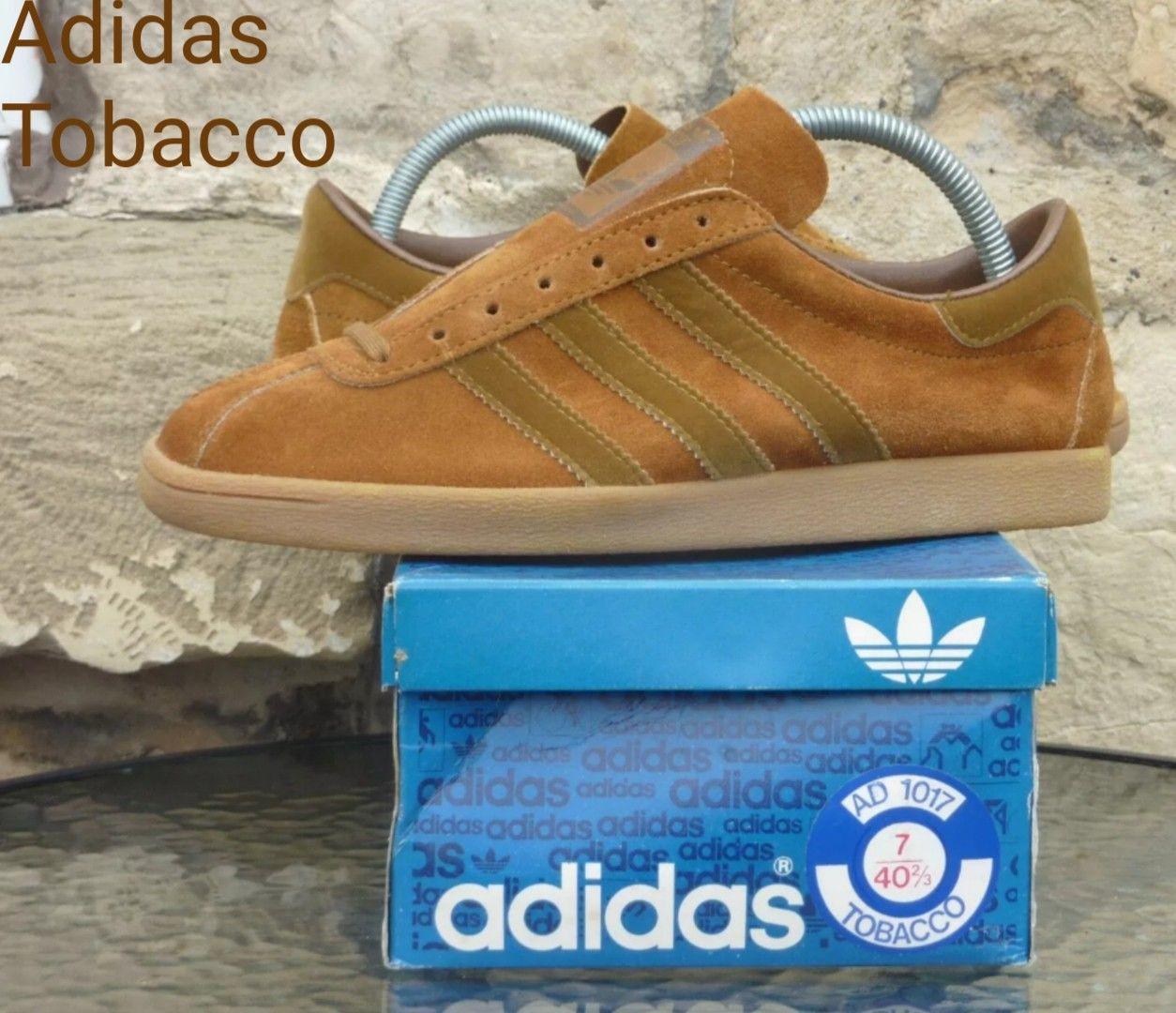 0536147e22e90 Stunning vintage French Adidas Tobacco +OG box.. | Adidas Originals ...