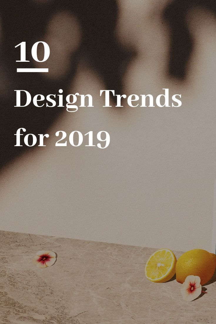 10 Graphic Design Trends for 2019 #graphicdesign