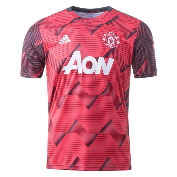 Manchester United 19 20 Pre Match Training Jersey By Adidas Sports Tshirt Designs World Soccer Shop Manchester United