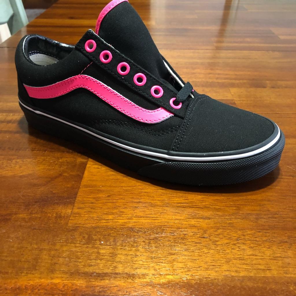 Vans Shoes   Brand New Custom Vans   Color: BlackPink