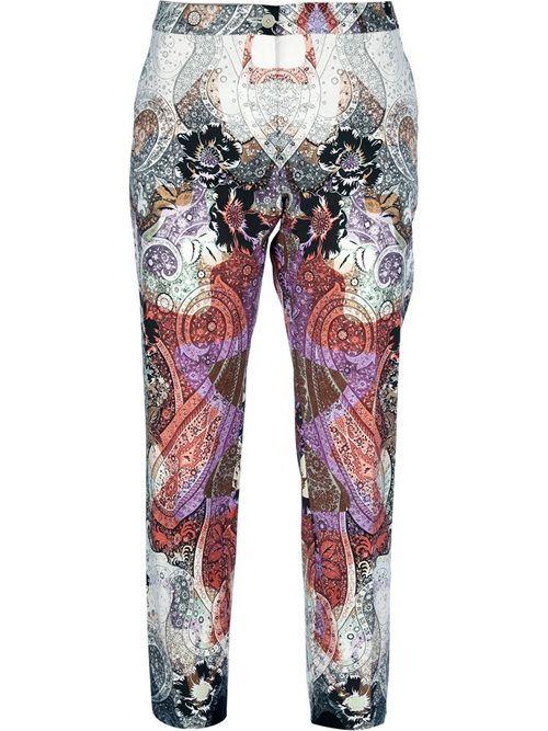 Women - All - Etro Paisley Capri Pant - Feathers Fashion Online Store