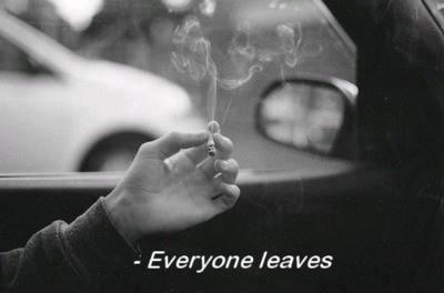 sad smoking quotes