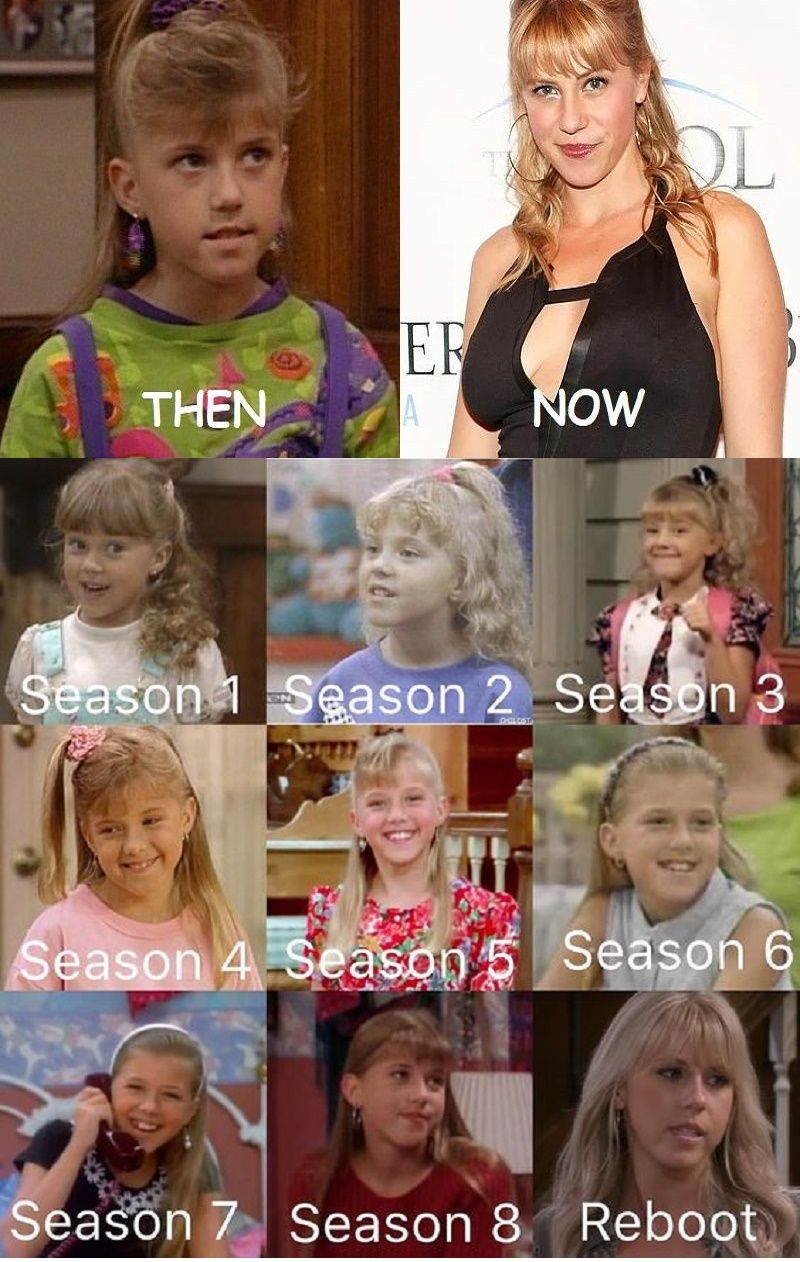 Full House Cast Then And Now After 24 Years Full House Full House Funny Full House Cast