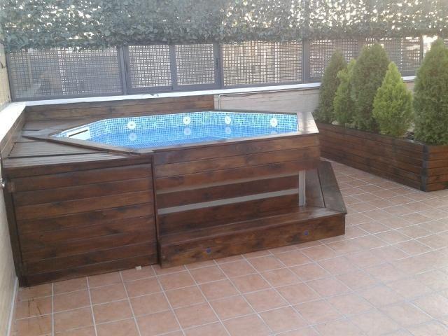 Mini piscina cerca amb google piscinas home decor for Piscinas pequenas portatiles