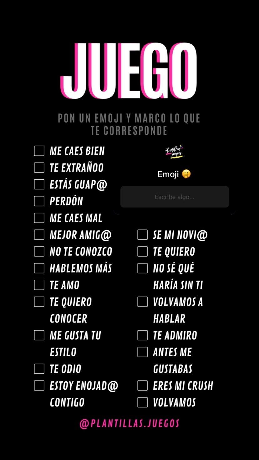 Photo of ¿Qué emoji me pertenece? Juego de historia de Instagram
