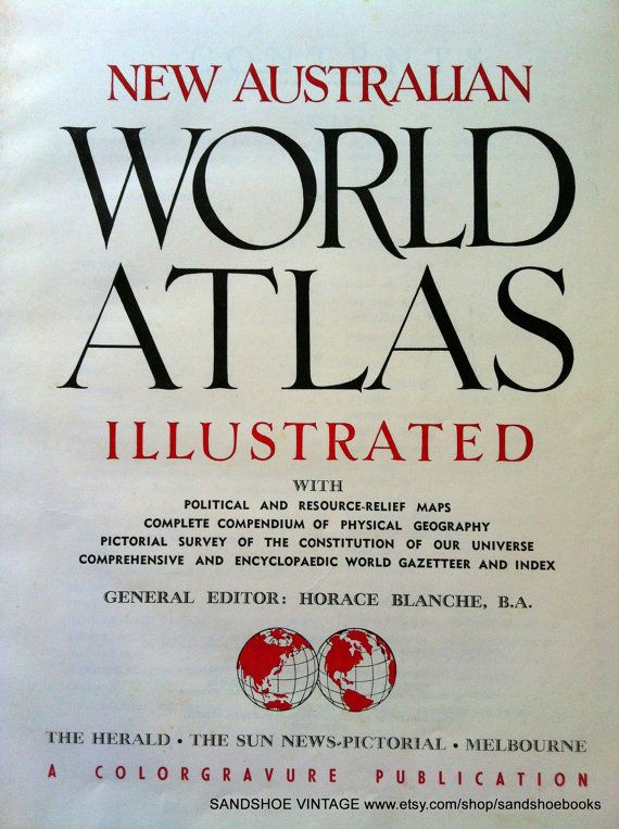1950s world atlas maps book by sandshoebooks on etsy 1000 stuff 1950s world atlas maps book by sandshoebooks on etsy 1000 gumiabroncs Image collections