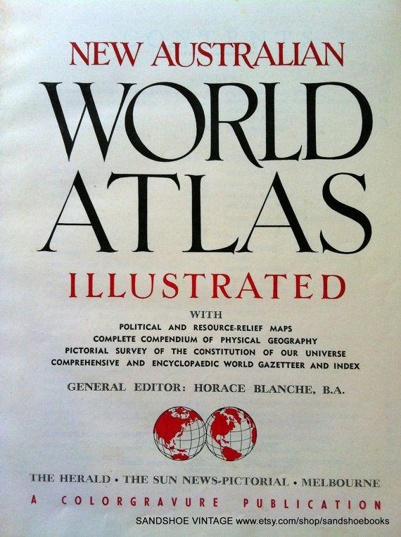 1950s world atlas maps book by sandshoebooks on etsy 1000 1950s world atlas maps book by sandshoebooks on etsy 1000 gumiabroncs Choice Image