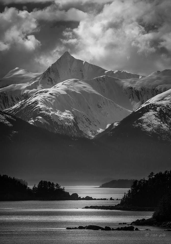 The Lighting Of This Picture Is Incredible! South End Of Benjamin Island. Photo By Ron Gile.  Love Alaska? Like Us! > I Love Alaska