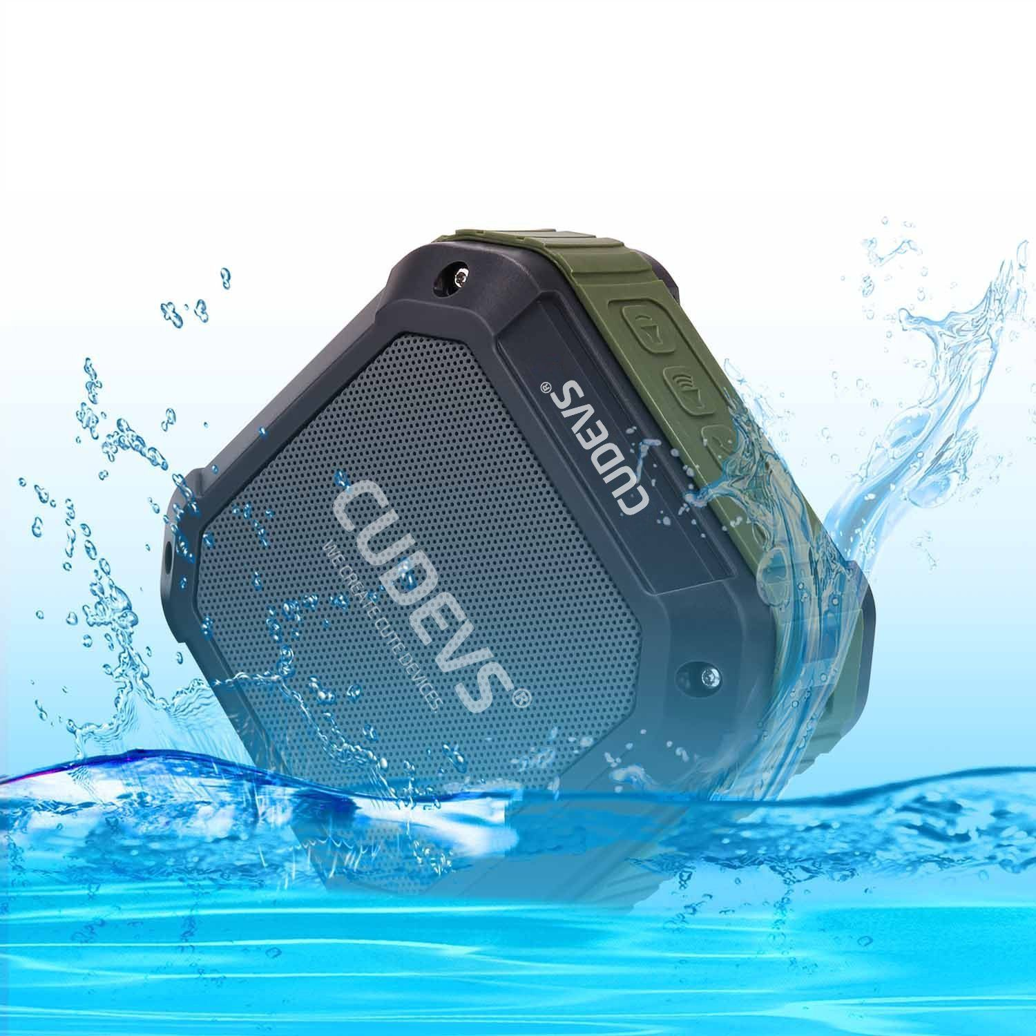 Cudevs M3 Bluetooth Speakers, Wireless, Portable and Waterproof for ...