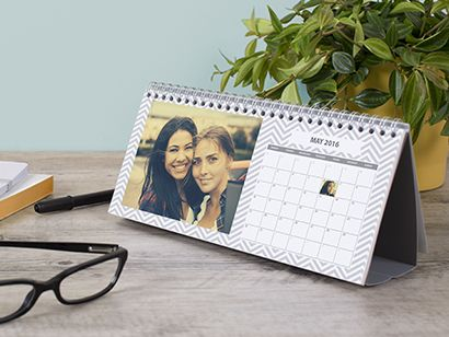 Add A Photo Calendar And Make Your Desk Say Something Abour You.  Personalised With Different