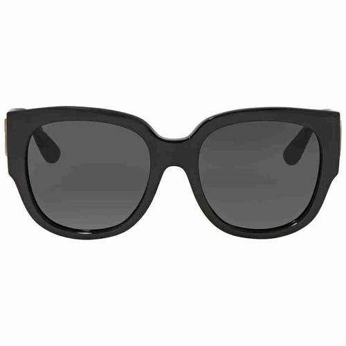 61c77ed1ee05b Gucci Grey Square Sunglasses GG0142SA 001 55