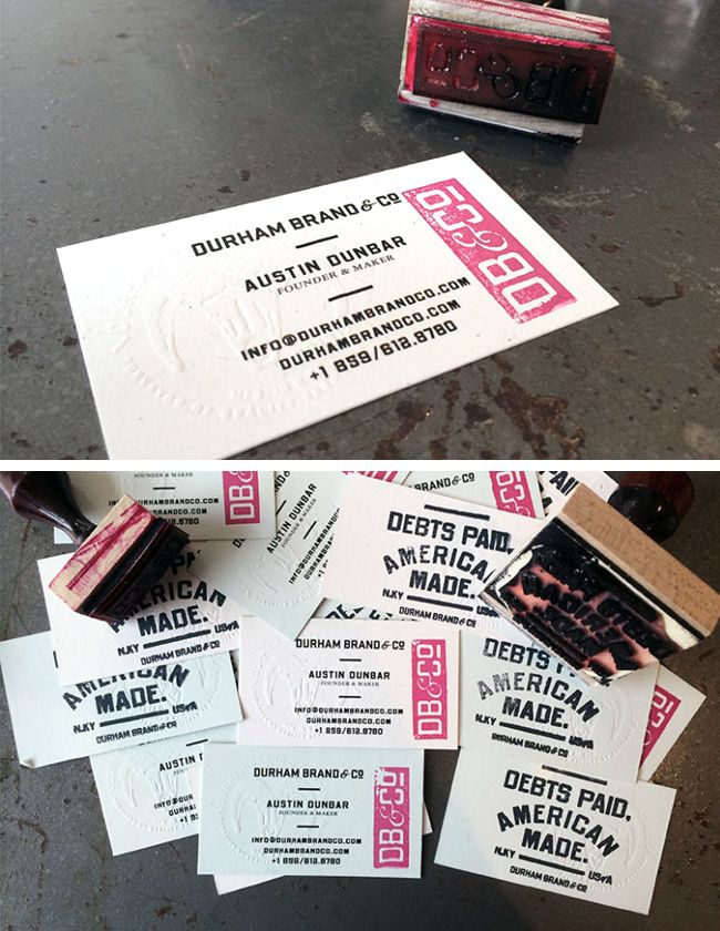 6 Super Easy Ways to Create Handmade DIY Business Cards   Business ...