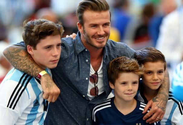 El Arsenal FC se queda con todo el clan Beckham