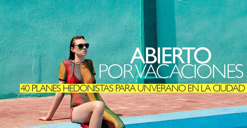 40 planes para un verano sin vacaciones