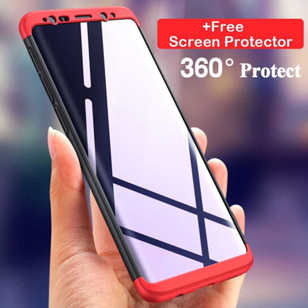 hot sale online d5a28 a7de7 $2.6 - Hybrid 360° Protective Case Cover For Samsung Galaxy A8 S9 ...