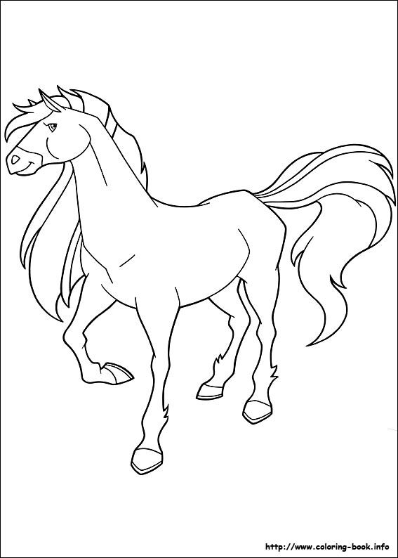 Horseland coloring picture | The creativity i don\'t have. | Pinterest