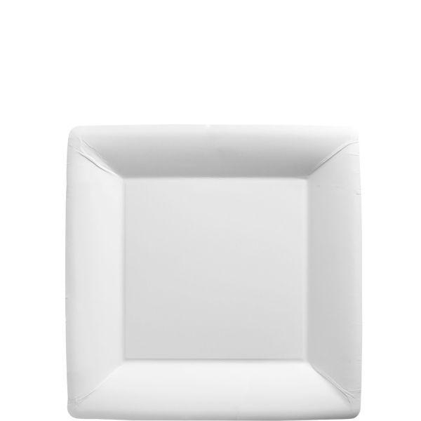 White Paper Square Dessert Plates 20ct  sc 1 st  Pinterest & White Paper Square Dessert Plates 20ct | Wedding ideas/likes ...