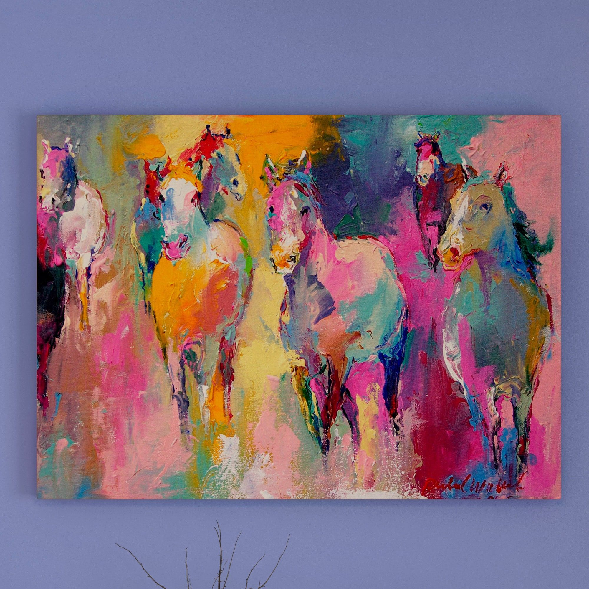 Overstock Com Online Shopping Bedding Furniture Electronics Jewelry Clothing More Horse Wall Art Canvases Painting Graphic Art Print