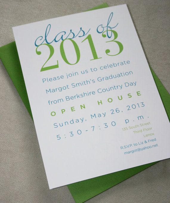 diy   graduation party invitations   print your own a7