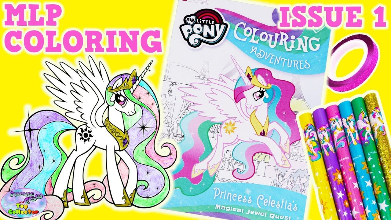 My Little Pony Coloring Adventures Story Colouring Book Mlp Surprise E My Little Pony Coloring Coloring Books Pony