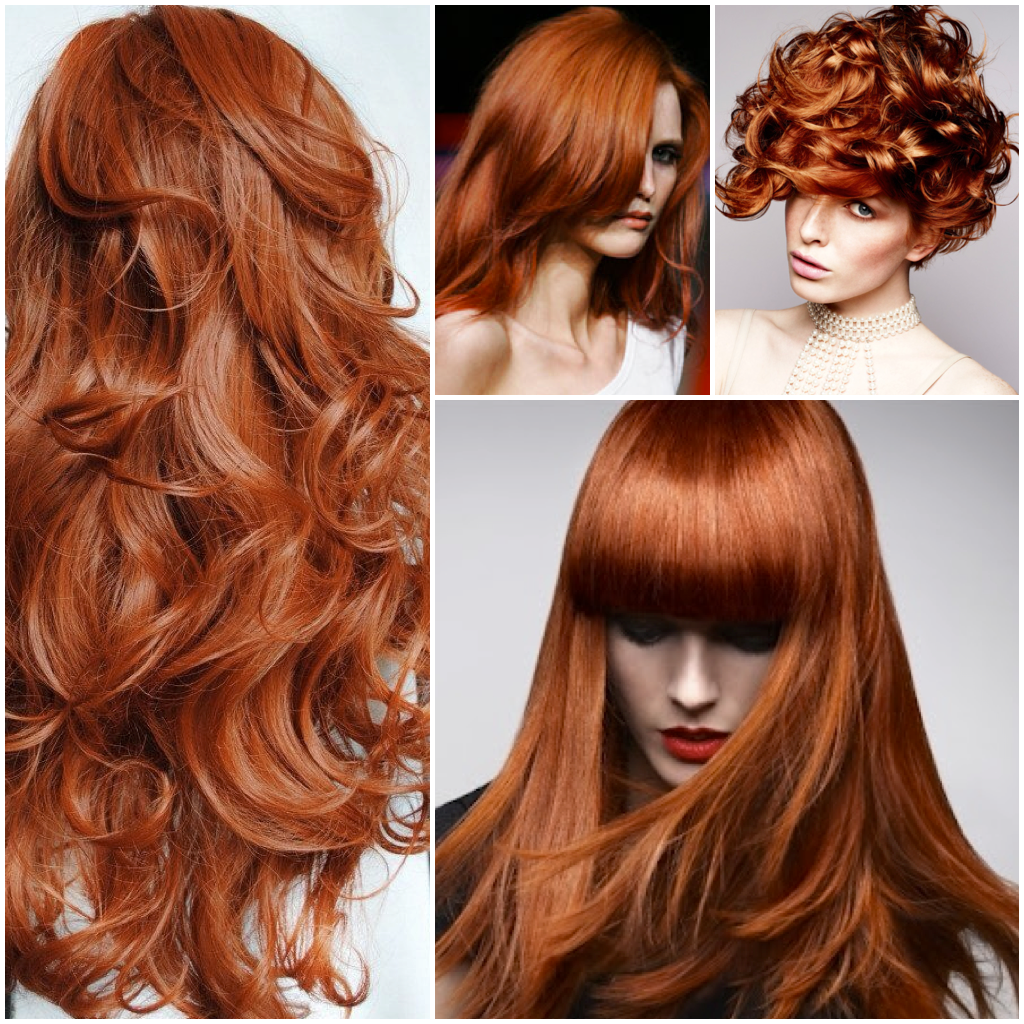 Hair Color New Penny Copper Formulas On Natural Level 7
