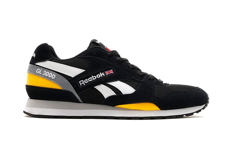 Reebok GL 3000 BlackRetro YellowWhite | Sneakers & Shoes
