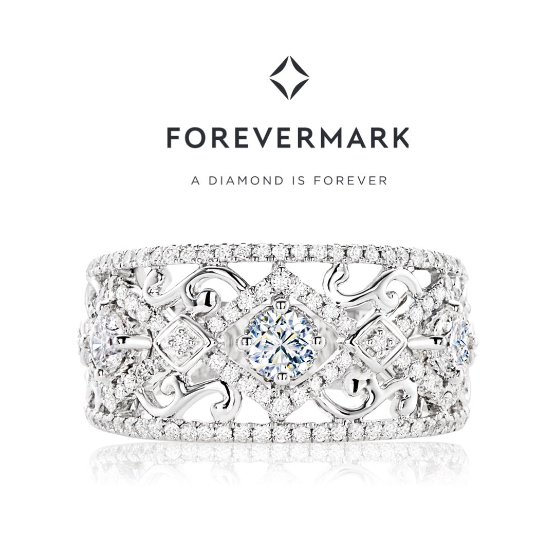 d4d070e87dd37 Stunning Forevermark Diamond dress ring available exclusively at ...