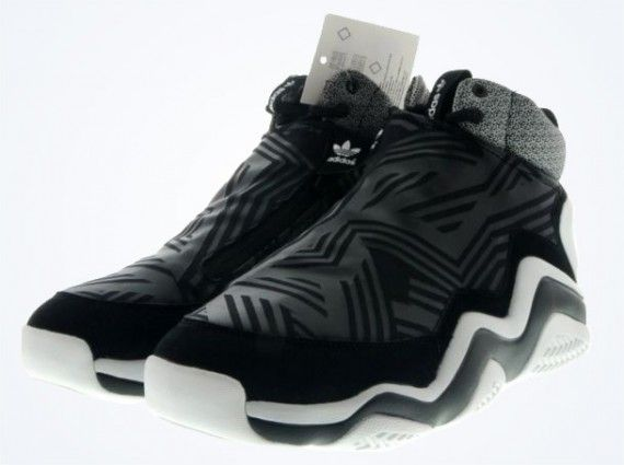 online store ca817 5a1d1 adidas FYW Prime Skin Black White Grey