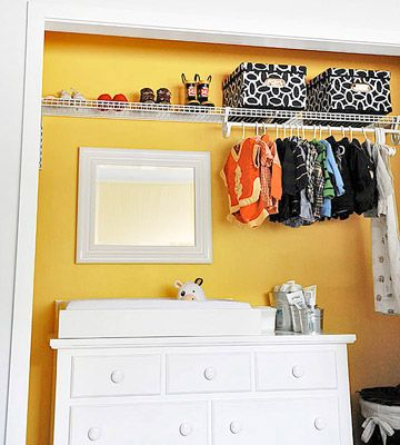 Make Room for Baby | Closet wall, Closet doors and Extensions