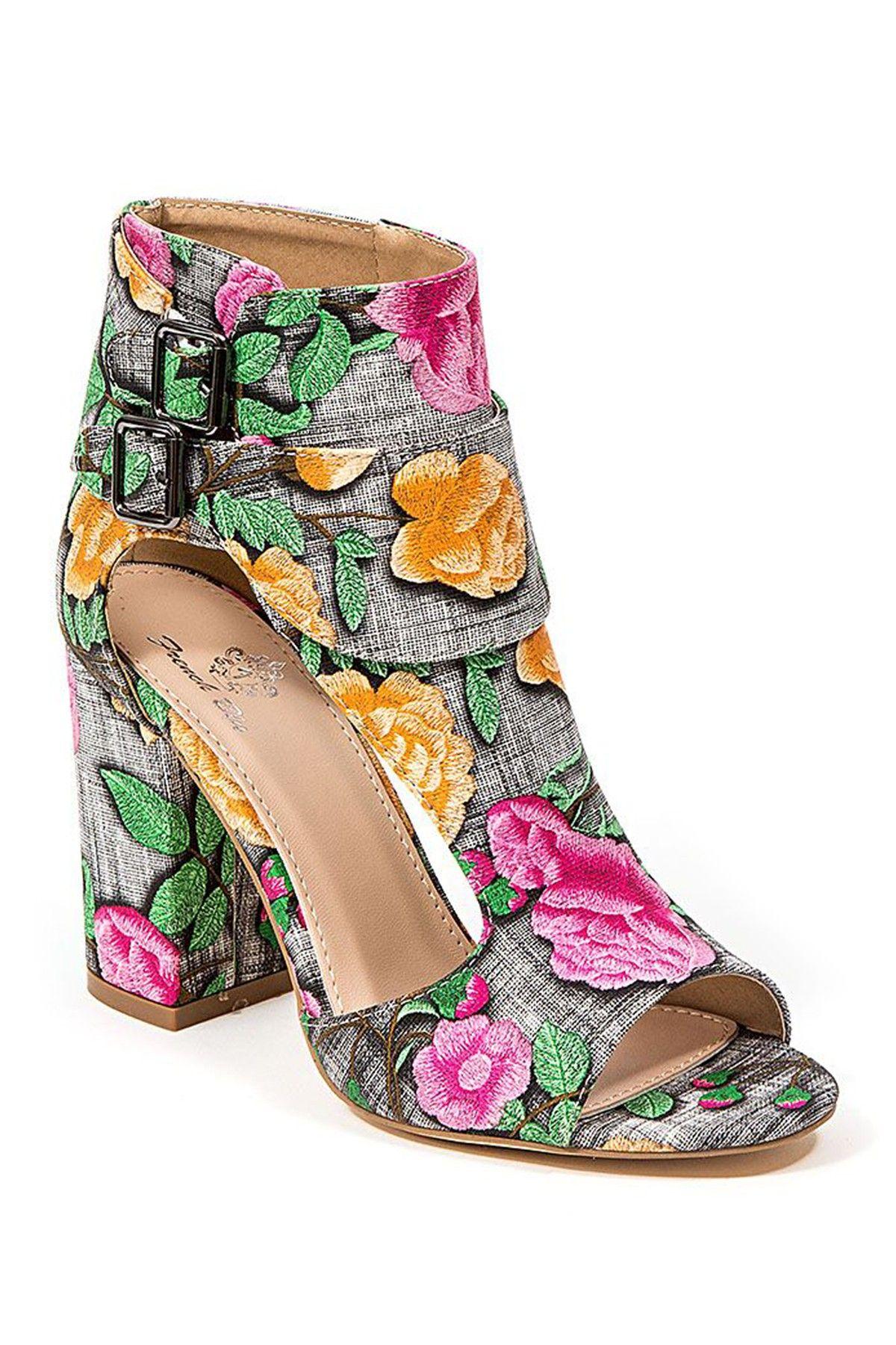 8883048dceb8 Allison Floral High Heel Sandal