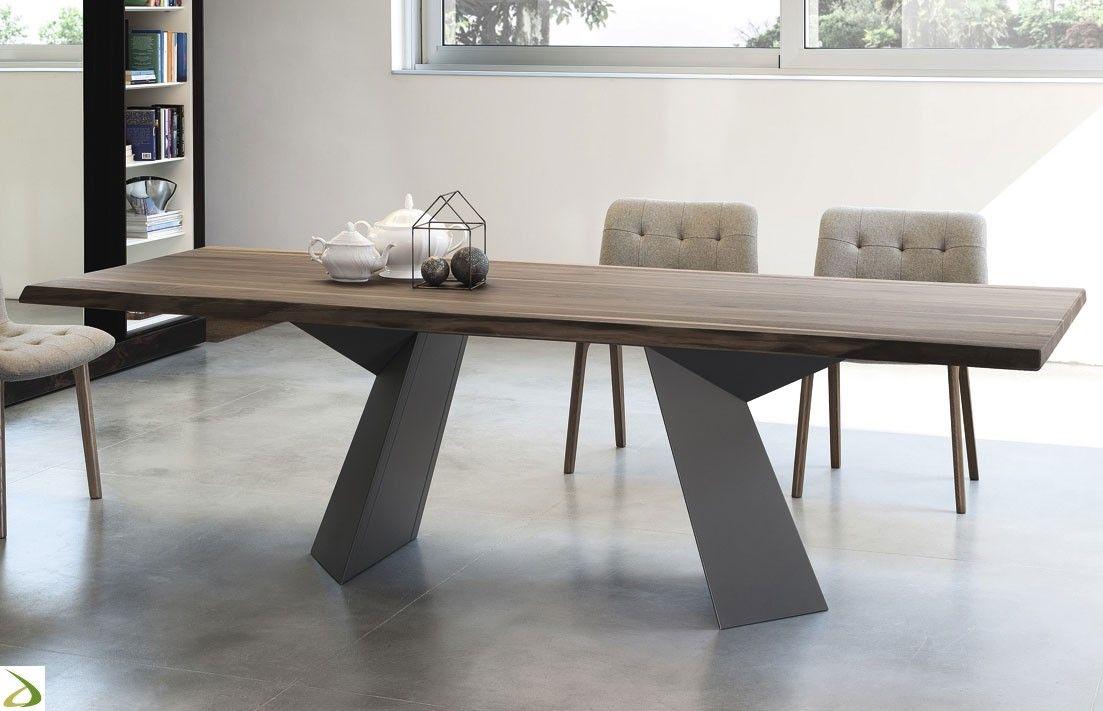 Tavolo Fiandre | Tavolo design, Tavoli da pranzo in legno e ...