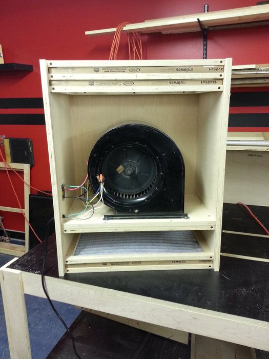 Shop Made Air Filter By Povertyridge Lumberjocks Com