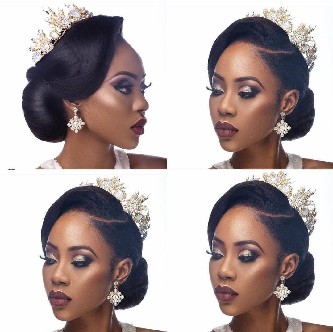 Nigerian Wedding Presents 30+ Gorgeous Bridal Hairstyles By Charis ...
