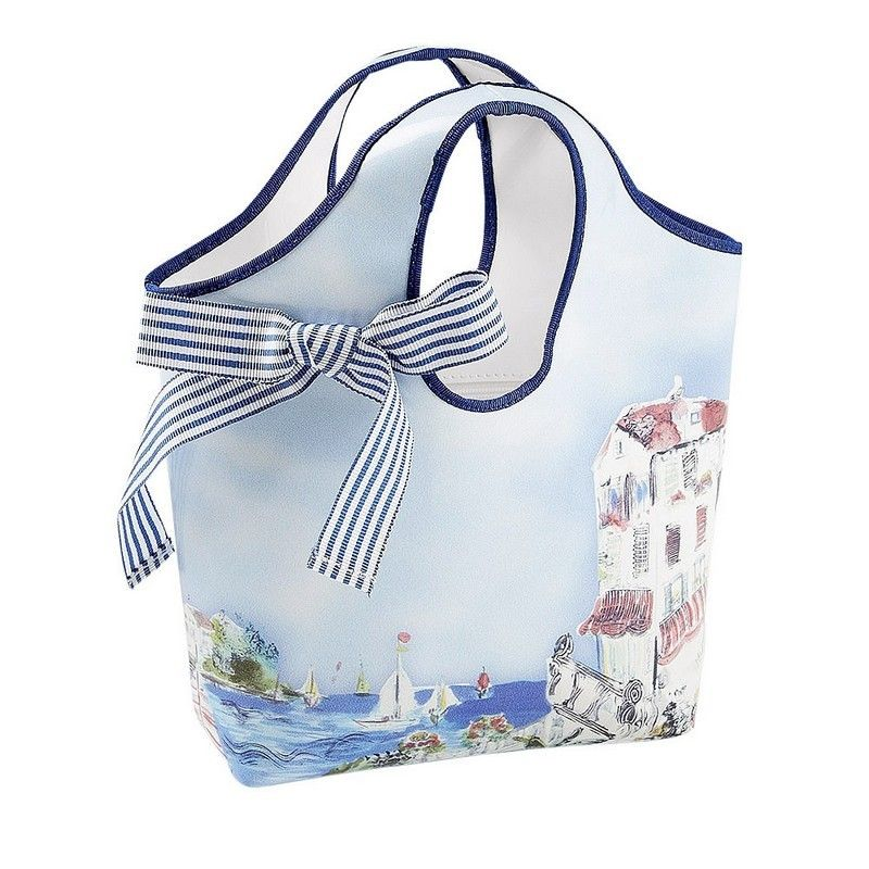 Capri print vinyl bag  2e381d175d7eb