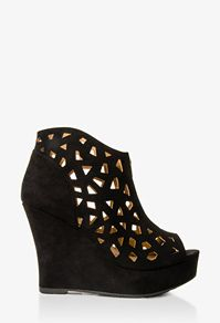 F21 cutout wedge