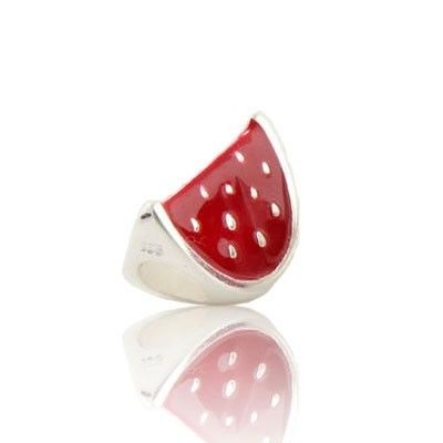 AEKK Sterling Silver Sweet Watermelon Enamel Charms,your thanksgiving essentials.