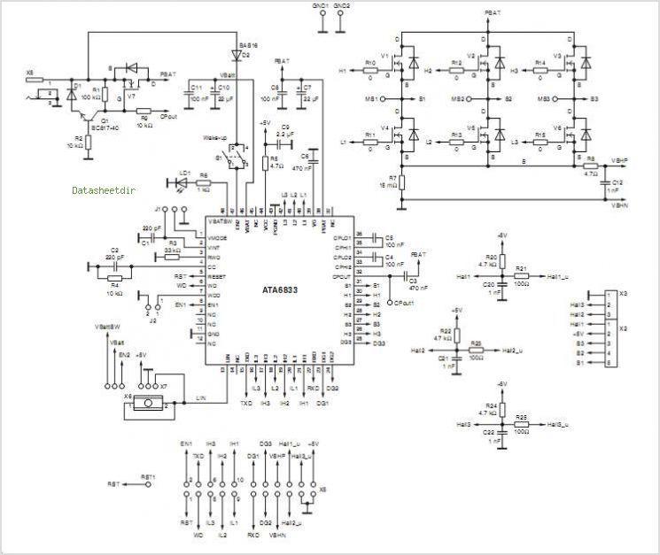 Diy Bldc Motor Driver Circuit: Pin By Grzegorz Snug On Robot